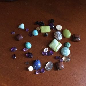 Jewelry - Bundle of 39 genuine Cabochon loose stones
